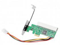 Adaptor PCI-e 1X la PCI de tip vechi