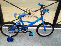"B'Twin Decathlon / Louppio / bicicleta copii 16"" (6-8 ani)"