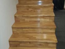 Placari scari cu trepte din lemn