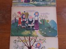 Lot de planse vintage cu povesti pentru gradinite / C2DP