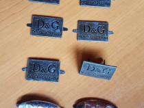 Dolce & Gabbana emblema/logo metalic pentru colectionari