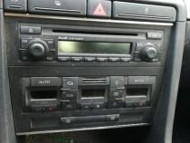 Climatronic Audi A4 B7 comenzi clima Radio CD Suport Pahare