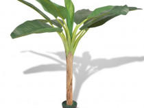Bananier artificial cu ghiveci, 150 cm (244454)