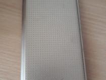 Carcasa originala Samsung S5 mini Gold, flip, folosita
