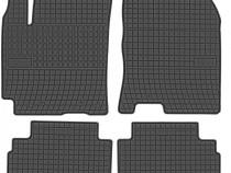 Set Covorase Auto Cauciuc Negro Hyundai Kona 2017→ 401990