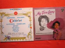 Vinil 2lp musical 1962:camelot (julie andrews, r.burton)