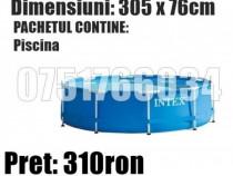 Piscina Piscine Bazin Intex Rotunda Cadru Metal