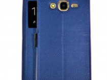 Husa flip book s-view huawei p10 dark blue produs nou