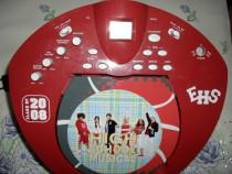 DISNEY, High School Musical, radio FM cu CD, stereo, aproape