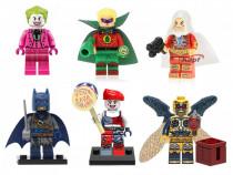 Figurine tip lego eroi dc comics joker shazam batman pirat