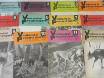 Revista vânătorul și pescarul anul 1980*lot complet