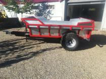 Remorca basculabila pentru tractor
