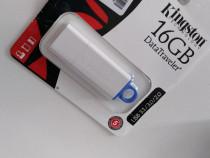 Memorie USB Kingston DataTraveler DTIG4, 16GB, USB 3.0, Alb/