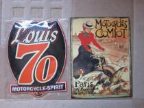 Reclama Metalica - Motorcycle Spirit si Comiot -un cadou ine