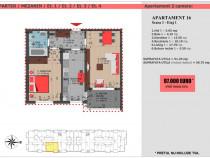 Decebal, apartament 2 camere , zona excelenta, comision 0!