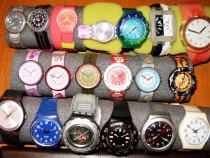 Colectie 50 ceasuri swatch -si flik flak