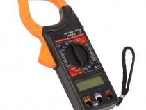 Multimetru Tester Digital Tip Cleste Ampermetru LED