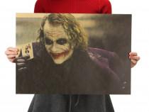 Poster vintage Joker hartie kraft dimensiune 51 x 35.5 cm