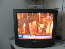 TV CRT Sony Trinitron KV-21T3K, 54 cm diag, cu telecomanda