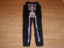 Costum carnaval serbare schelet pentru copii de 9-10 ani