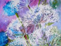Tablou flori camp