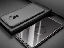 Samsung A6 A8 2018 - Husa 360 Plastic Fata Spate Si Folie