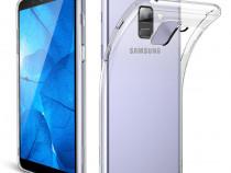 Samsung A6 A6+ A8 2018 - Husa Ultra Slim Din Silicon Transpa