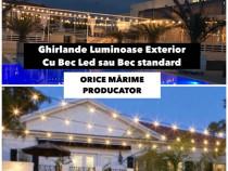 Ghirlande Ornamentale 20 m, 40x Bec Led Mare, Pret Fabrica R