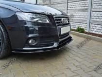 Prelungire splitter tuning bara fata Audi A4 B8 NFL 08-12 v3