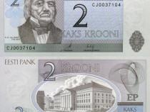 Lot 3 bancnote ESTONIA 1994-2007 - UNC