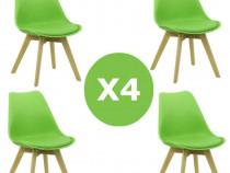 Set 4 scaune de living si bucatarie Transport Gratuit