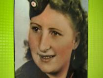 Ww2-3Reich-Foto Femeie din trupele militare.