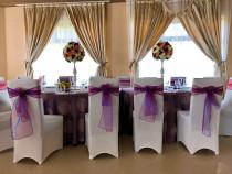 Inchirieri huse scaun, fete de masa pentru evenimente