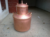 Cazan cupru 130 litri complet echipat