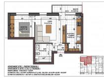 Apartament 2 camere, Prima Casa,metrou Nicolae Teclu pallady