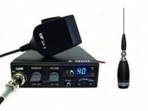 CRT S Mini Statie Radio CB + Sirio Megawatt 4000 Antena CB P