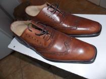 Pantofi noi,da vinci,italia,totalpiele naturala,ev.ramburs