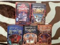 Cantec de gheata si foc-George R.R.Martin (5 vol) cartonate