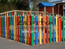 Gard pentru locuri de joaca / gard gradinita colorat