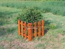 Gardut de gradina / gard decorativ de gradina lacuit