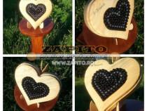 Inimoara cu insertii semipretioase cadouri craiova