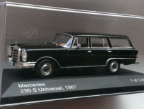 Macheta Mercedes-Benz 230 S Universal 1967 - Whitebox 1/43