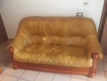 Canapea si fotolii piele naturala