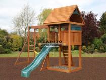 Playground copii, loc de joaca exterior de gradina model 4