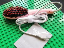 Perie electrica de par NASV-100 Hair Auto Straightener Brush