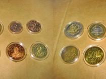 A179-Set 8 monede specimen euro Malta.