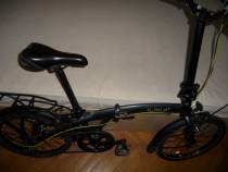 Bicicleta din aluminiu bfold 7