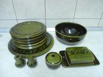 Set din ceramica smaltuita