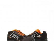 Pantofi protectie S3,SPARCO,Nitro,ultra-usori,gri cu portoca