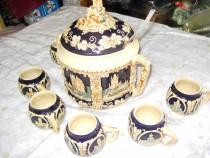 364a- Servici din ceramica pentru servit diverse bauturi.